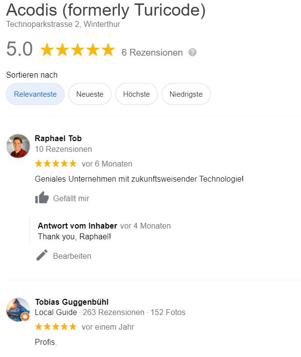 Google Review_Raphael&Tobias_Acodis